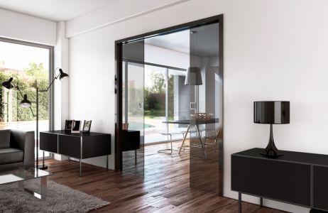 Salon-salle-a-manger Porte-coulissante-separaton La-manufacture-d-interieurs