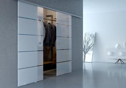 Стеклянная-двери-Серия-Illusion-модель-Диана-матовое-бесцветное-раздвижная